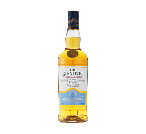 THE GLENLIVET Founders Reserve Scotch Whisky (1 x 750ml)