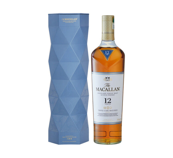 The Macallan 12 YO Triple Cask Matured Scotch Whisky (1 x 750 ml)