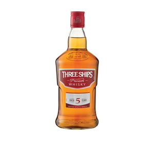 THREE SHIPS 5 YO Whisky (1 x 750ml)