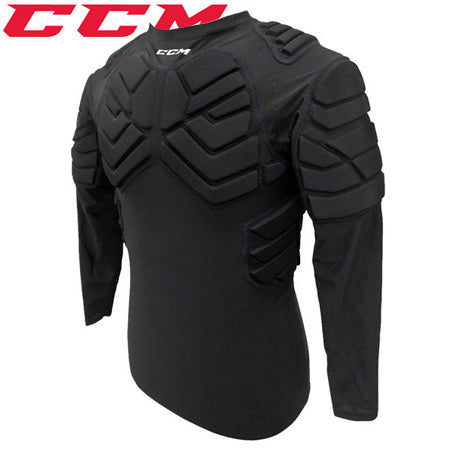 CCM Padded Long Sleeve Goalie Shirt Junior