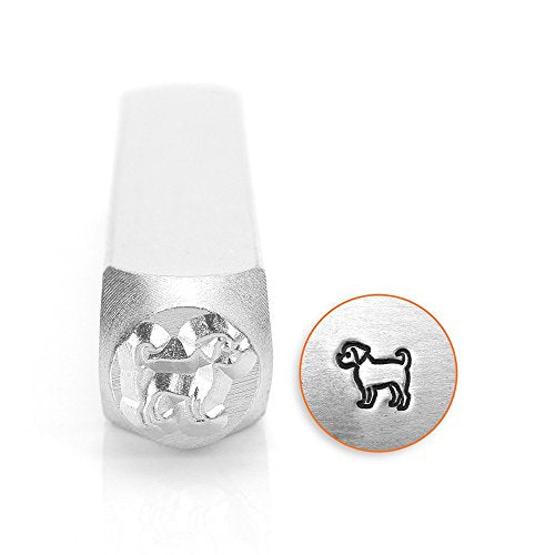 ImpressArt- 6mm, Puggle Metal Stamp