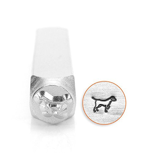 ImpressArt- 6mm, Lab Retriever Metal Stamp