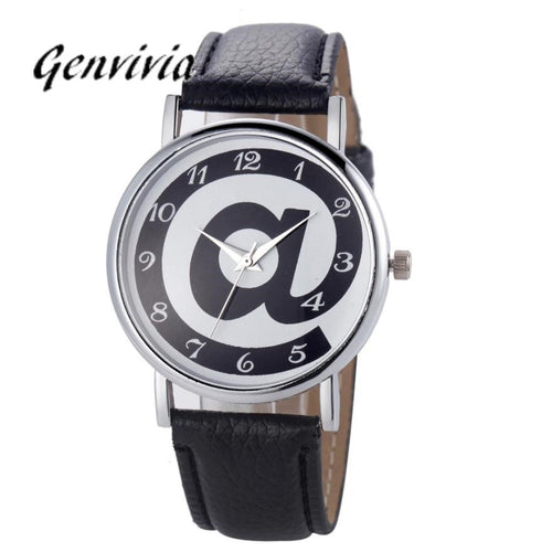 Women's Watch Fashion Diamond Analog Leather Quartz Wrist Watch