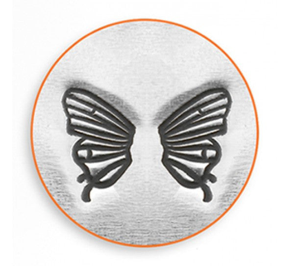 ImpressArt - Animal, Butterfly Wings, 6mm, Metal Stamp - Press Metals