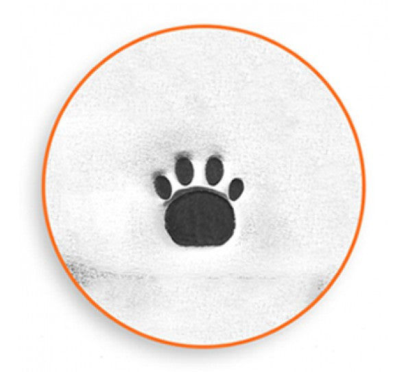 ImpressArt - Animal, Paw Print (Small), 3mm, Metal Stamp - Press Metals