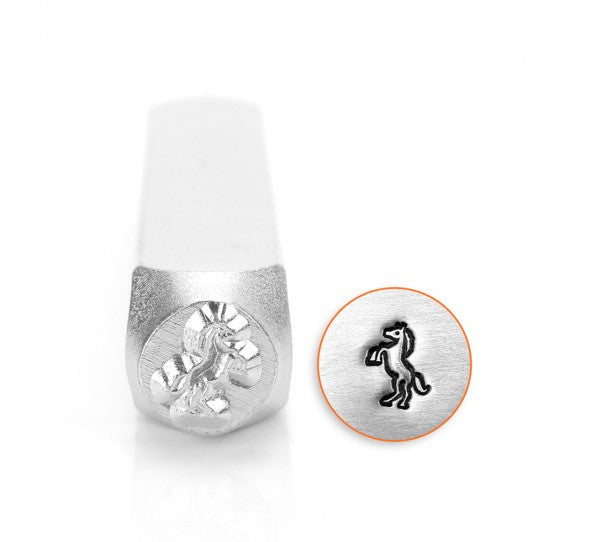 ImpressArt - Animal, Standing Horse, 6mm, Metal Stamp - Press Metals
