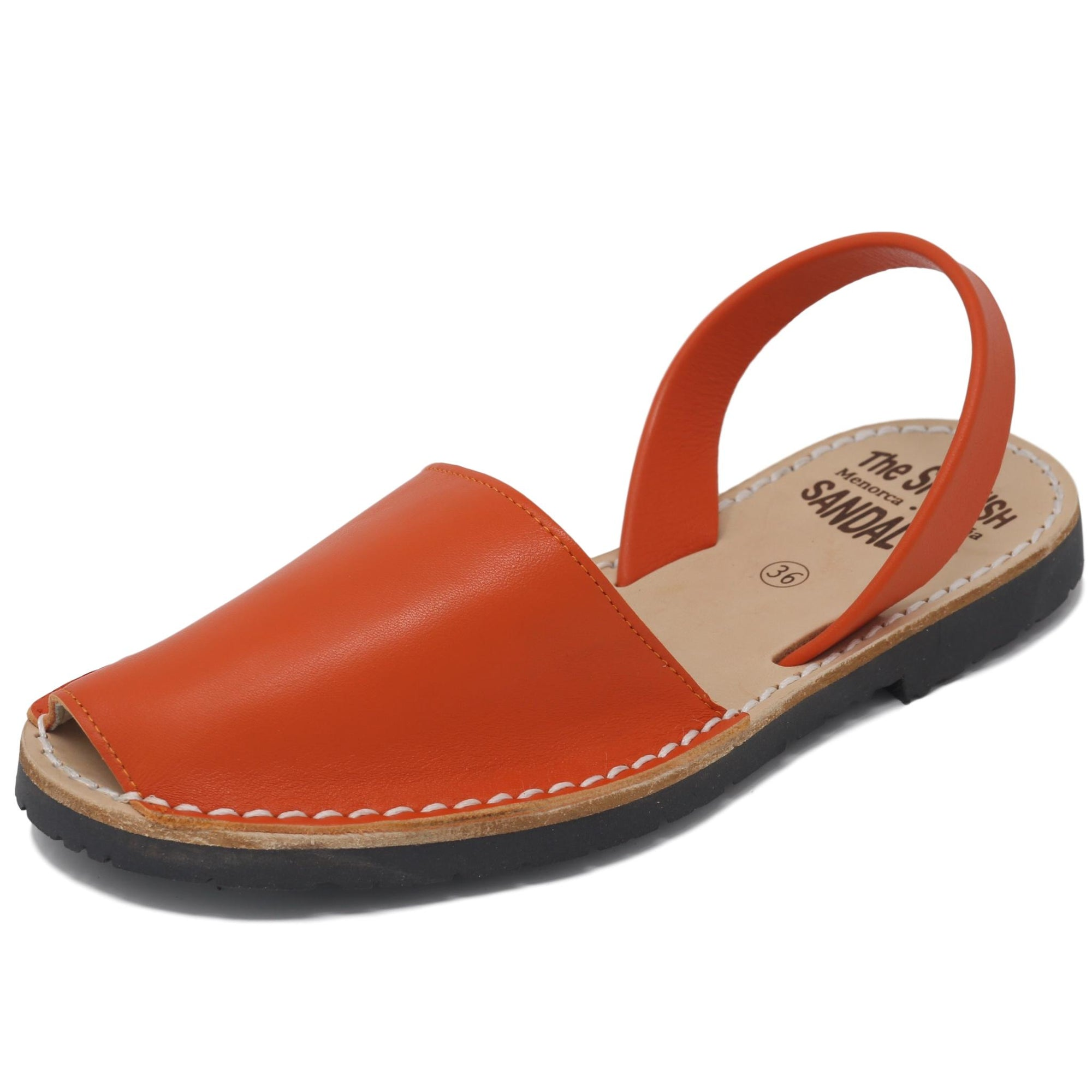 Pumpkin Orange sandals