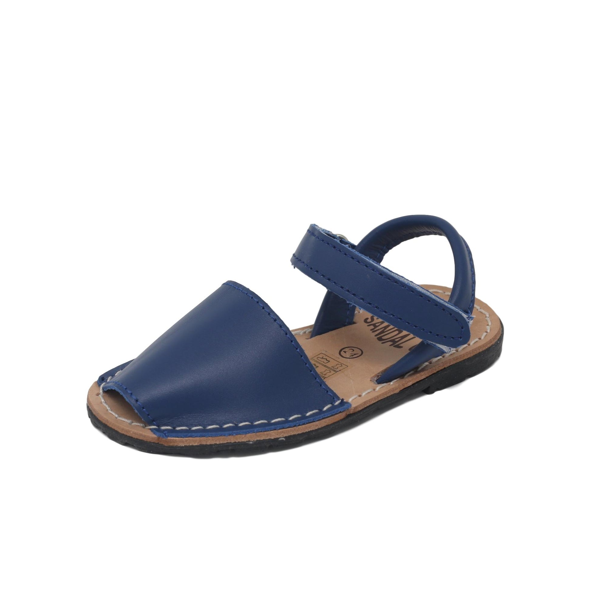 Kids navy blue with velcro strap