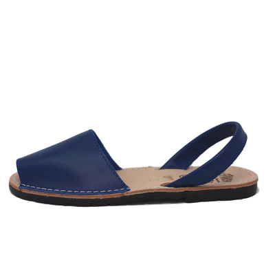 Royal blue sandals