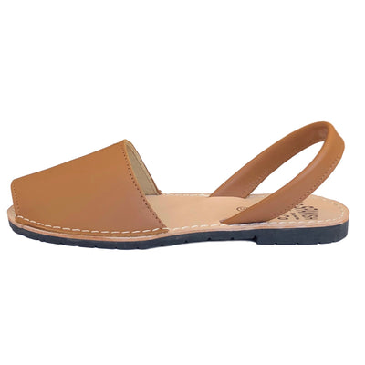 Camel classic Spanish sandals - side view