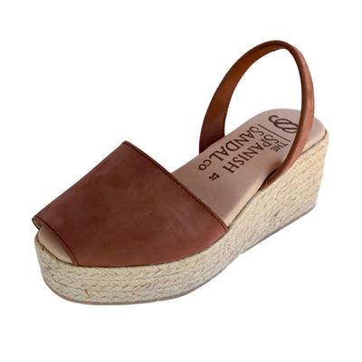 Nut espadrille wedge sandals CLOUD