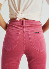 Rose Pink Eastcoast Cord Flares
