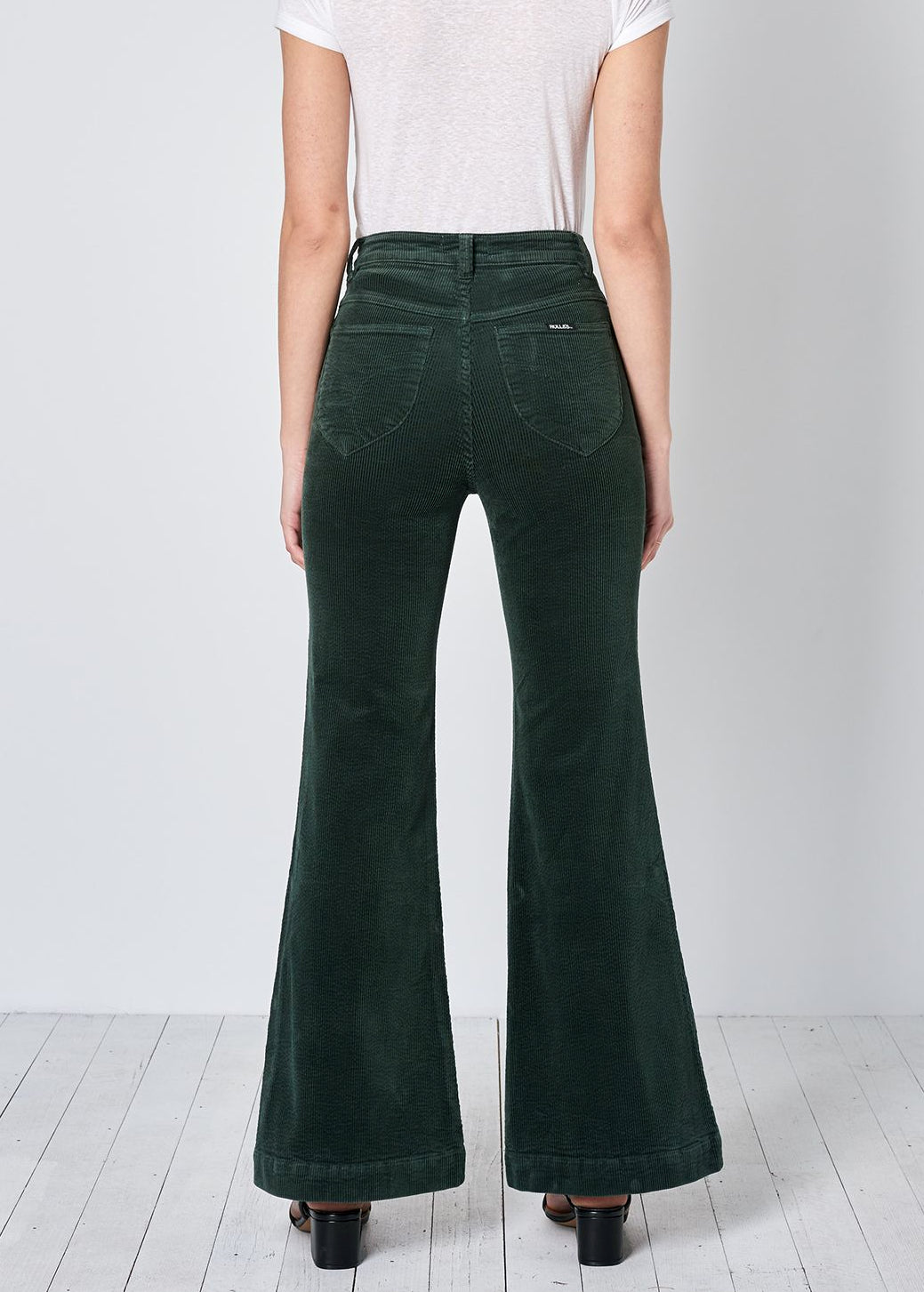 Ivy Green Cord Eastcoast Flares <br> <b> Restock in Oct! </b>