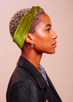 The Baez Velvet Scarf Tie / Headband