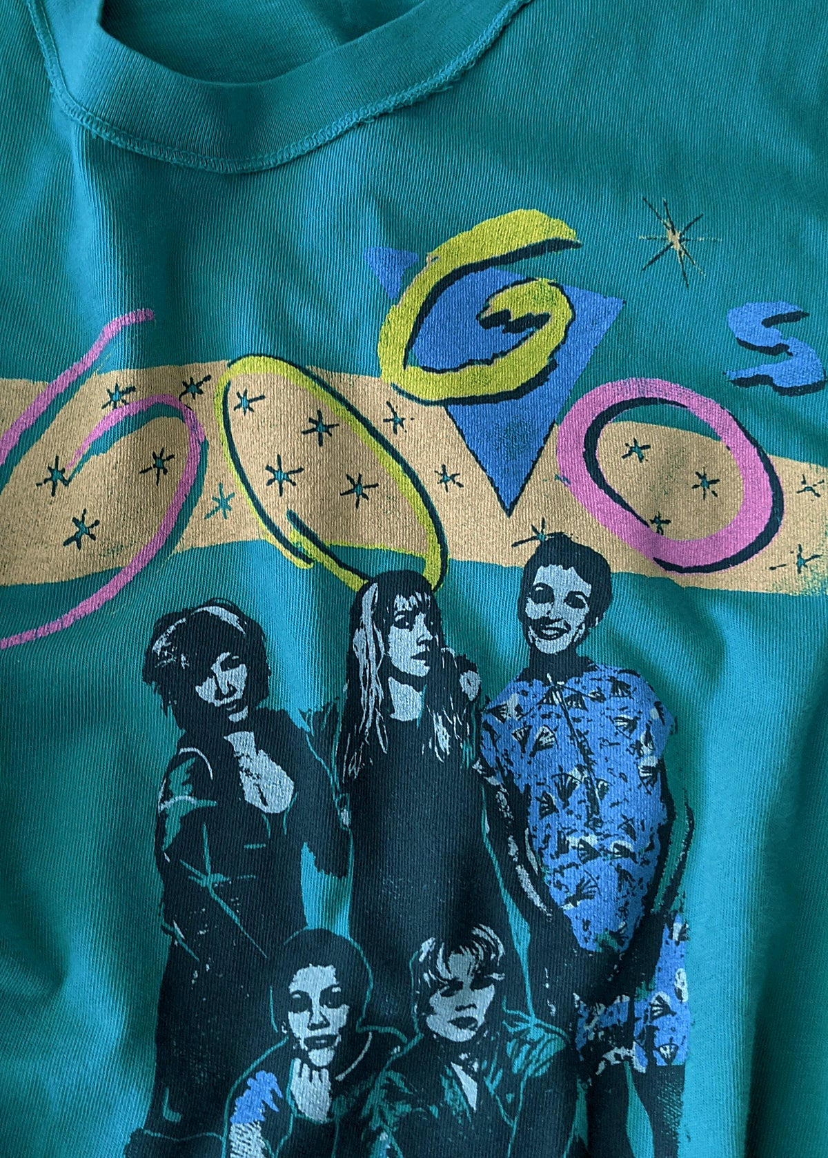 The Go-Go's Girlfriend Tee