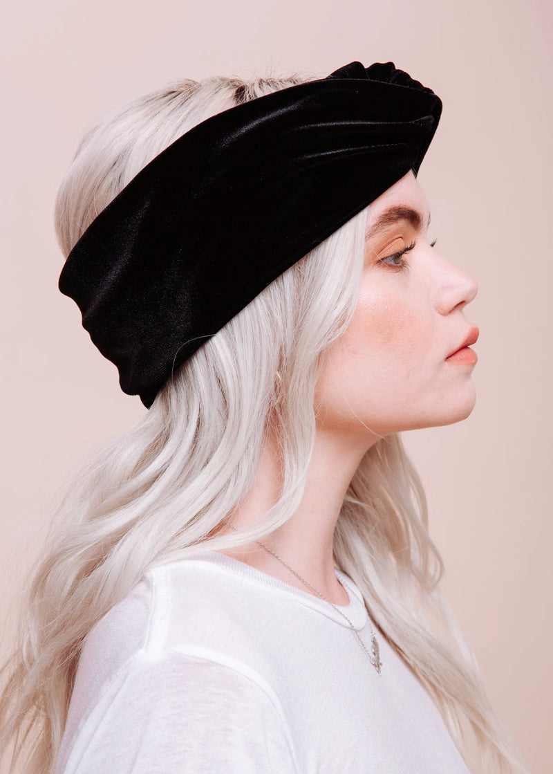The Ozzy Velvet Turban Headband