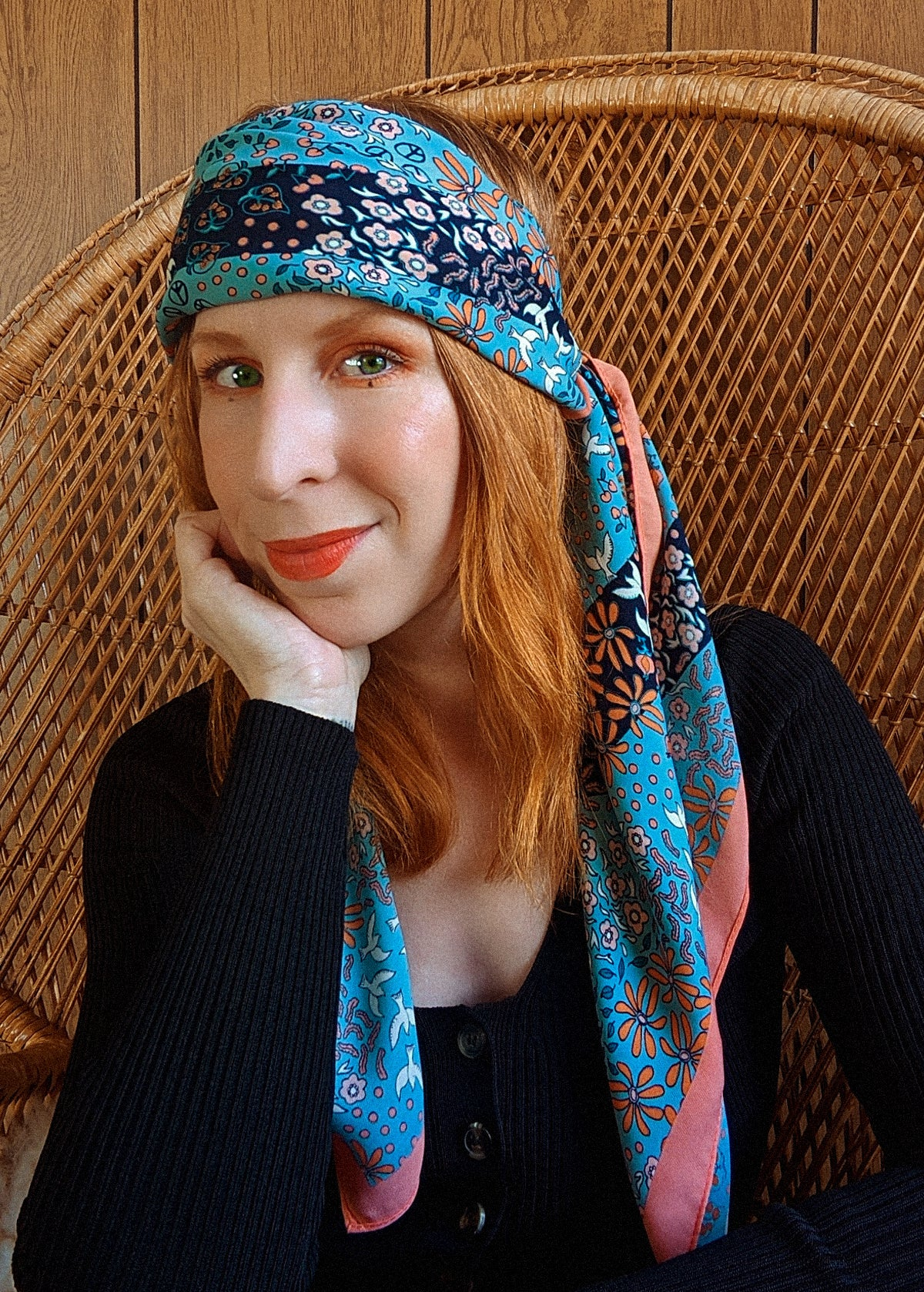 Sunrise Buttercup Travel Scarf