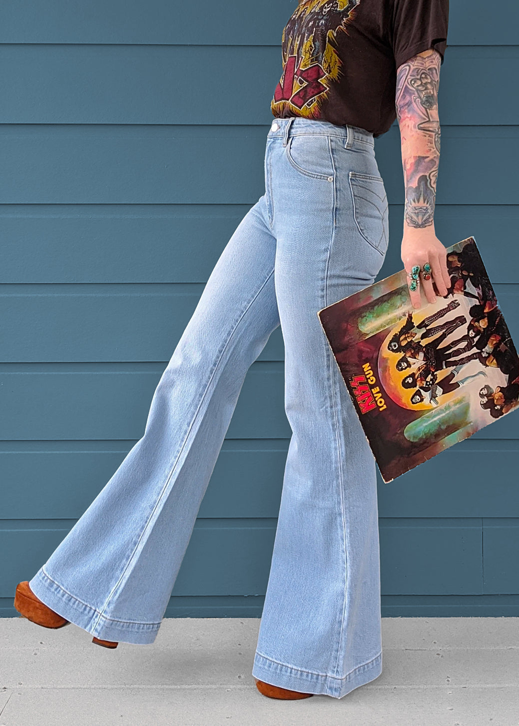 Tash Blue Eastcoast Denim Flares