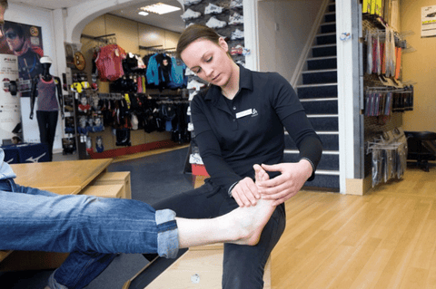 Checking for Hallux Restrictions
