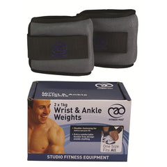 Fitness Mad Wrist & Ankle Weights 2 X 1Kg