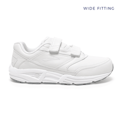 Brooks Addiction Walker V-strap  Mens | Wide | White