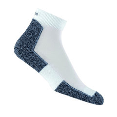 Thorlos Running Sock Mini Crew LRMXW Running Socks | White
