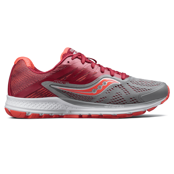 Saucony Ride 10 Womens | Grey