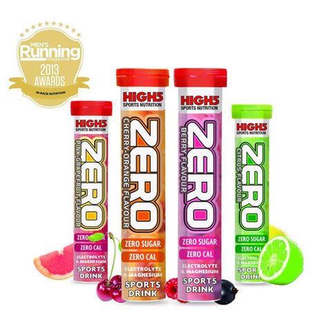 High 5 Zero Citrus 20 Tablet Tube