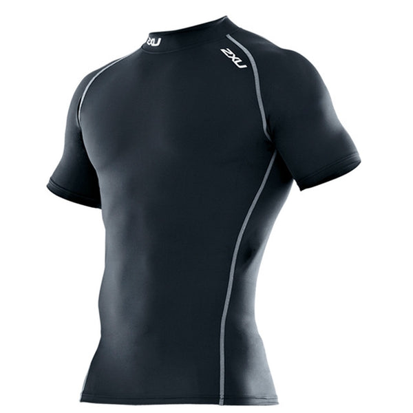 2XU Compression Short Sleeve Top Mens | Black