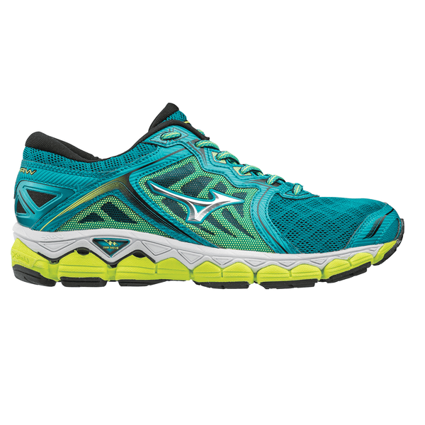 Mizuno Wave Sky Womens | Green