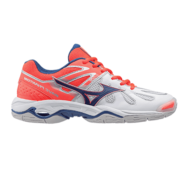 Mizuno Wave Phantom Netball Womens | White