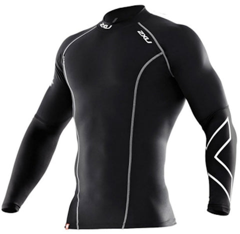 2XU Long Sleeve Compression Top Mens | Black