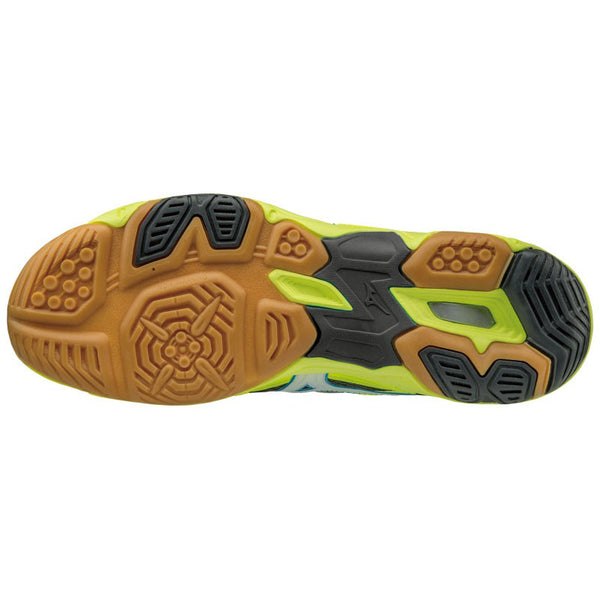 Mizuno Wave Twister 4 Mens Indoor Court Shoe | Yellow