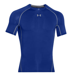Under Armour Armour Heatgear Short Sleeve Tee Mens | Royal/Steel