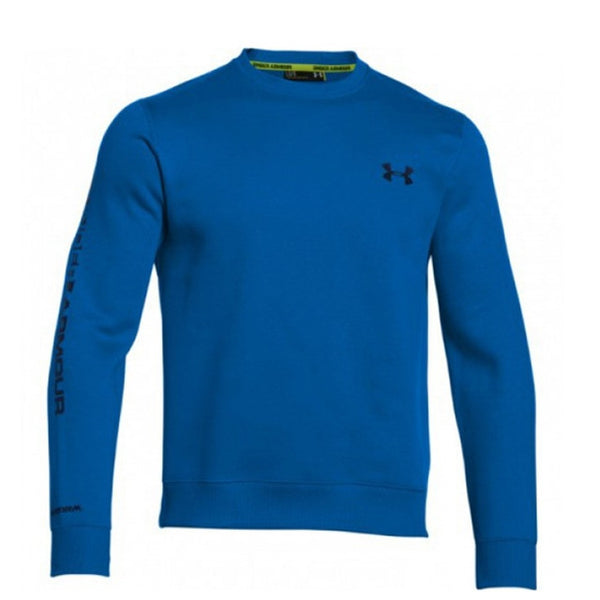 Under Armour Storm Rival Graphic Crew Mens | Blue Jet