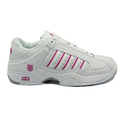 K-Swiss Defier RS Womens Tennis Shoes | White/Very Berry
