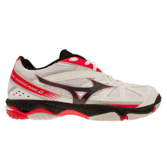 Mizuno Womens Wave Hurricane 2 Netball Shoes | White