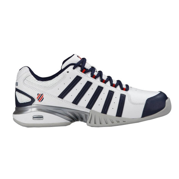 K-Swiss Receiver 3 Carpet Mens | White/Blue