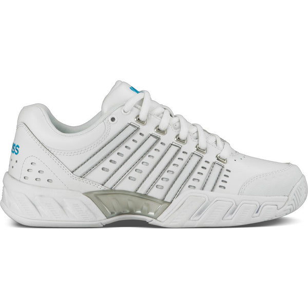 K-Swiss Womens BigShot Light LTR All-Court Shoes | White