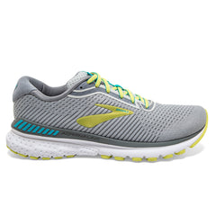 Brooks Adrenaline GTS 20 Womens | Grey/limeade/blue Bird