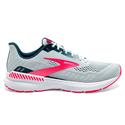 Brooks Launch GTS 8 Womens | Ice Flow/navy/pink