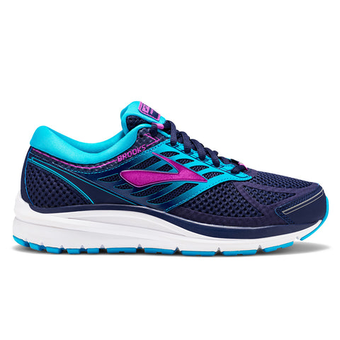 Brooks Addiction 13 Womens | Evening Blue/Teal/Cactus Flower
