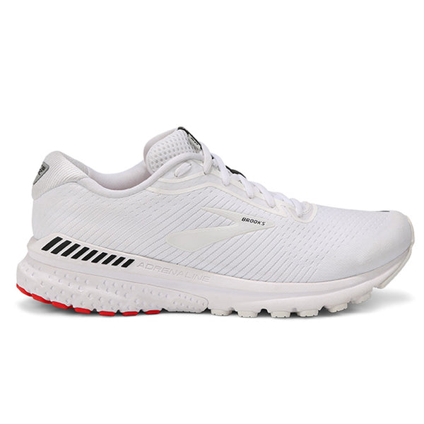 Brooks Adrenaline GTS 20 Mens | White/white/black