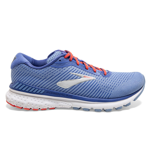 Brooks Adrenaline GTS 20 Womens | Bel Air Blue/Coral/Silver