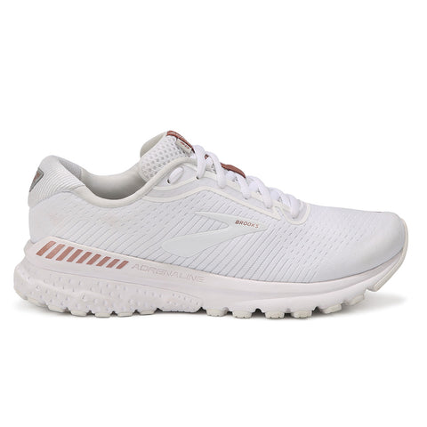 Brooks Adrenaline GTS 20 Womens | White/rose Gold