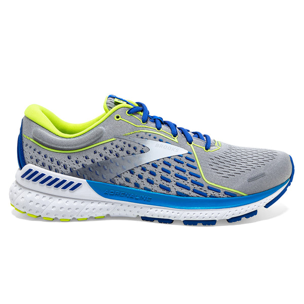 Brooks Adrenaline GTS 21 Mens | Grey/white/indigo