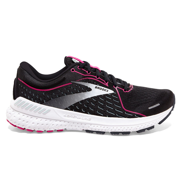 Brooks Adrenaline GTS 21 Womens | Black/raspberry Sorbet/ebony
