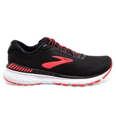 Brooks Adrenaline GTS 20 Womens | Black/coral/white