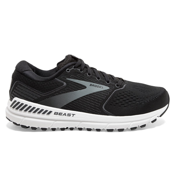 Brooks Beast 20 Mens | Black/Ebony/Grey