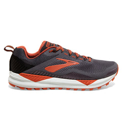 Brooks Cascadia 14 Mens | Black/Grey/Burnt Ochre